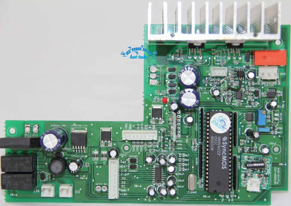 GD-800/GD800 Chinese Processor Board PCB